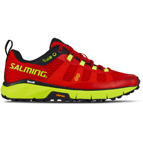 Salming Trail 5 Buty Kobiety, poppy red/safety yellow